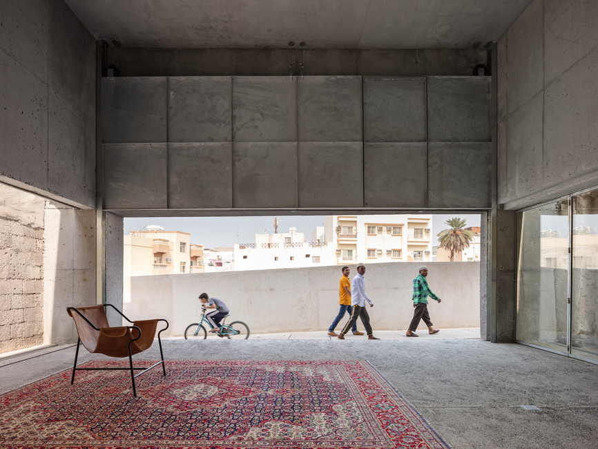 Another project in Muharraq, the House for Architectural Heritage designed by Noura Al Sayeh and Leopold Banchini Architects