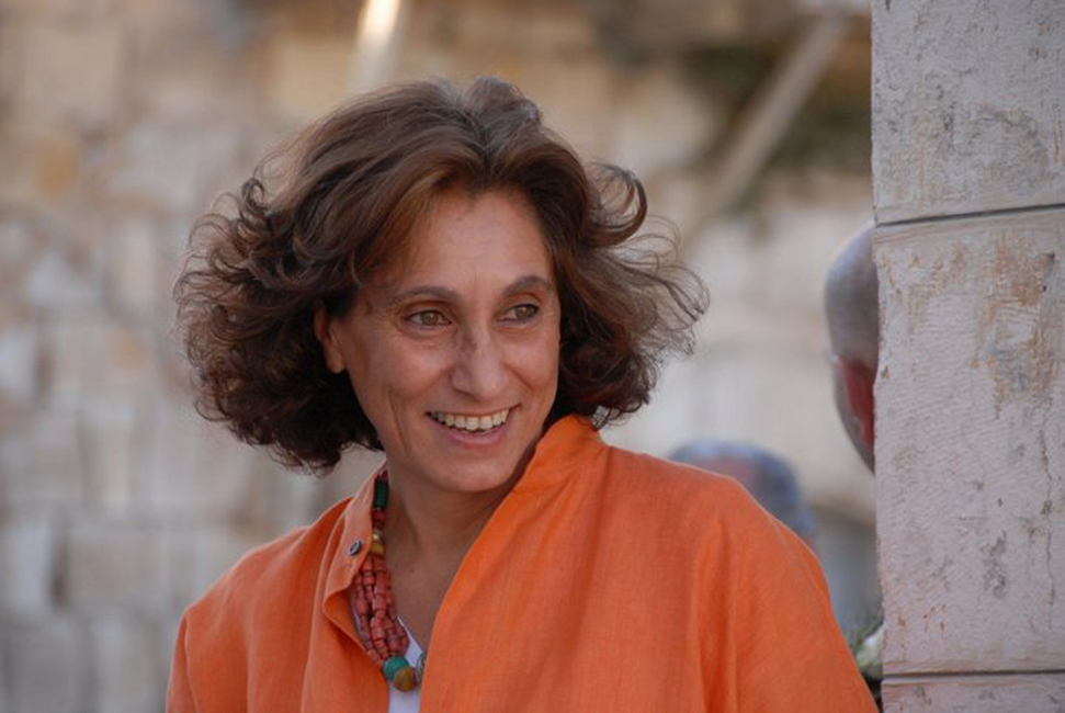 Suad Amiry, the 2018 winner of Tamayouz's Woman of Outstanding Achievement