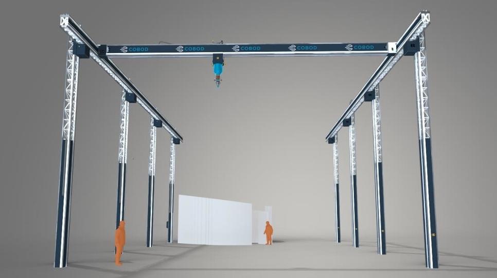 3D printing, 3D printing construction, Cobod International