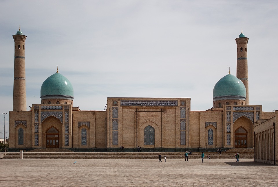 Abdulla Murodxo'jayev Mosque in Tashkent, Uzbekistan