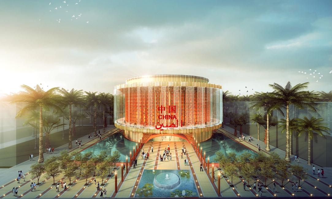 Expo 2020 Dubai, Expo 2020, Country pavilions, China Pavilion, Pavilion design