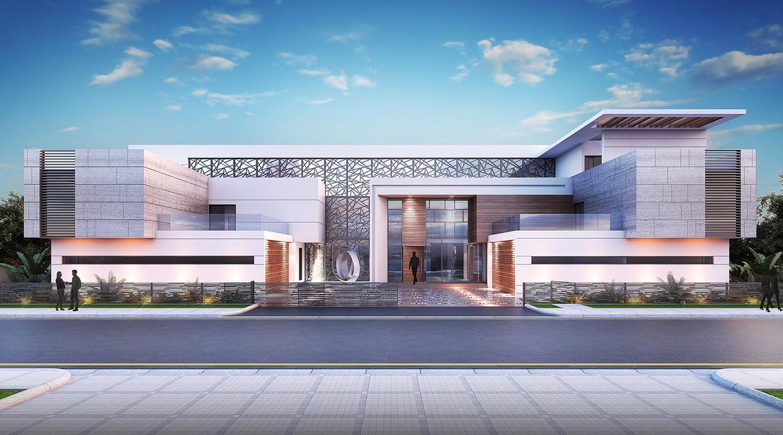 A private villa project on Palm Jumeirah, Dubai by Estilo Architects