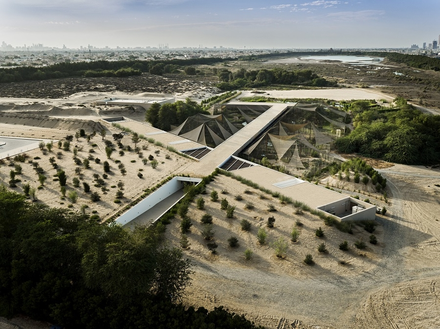 Wasit Wetland Centre in Sharjah by X Architects
