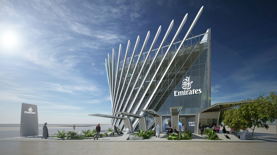 Expo 2020 Dubai, Dubai Expo, Emirates Pavilion, Pavilions for Expo
