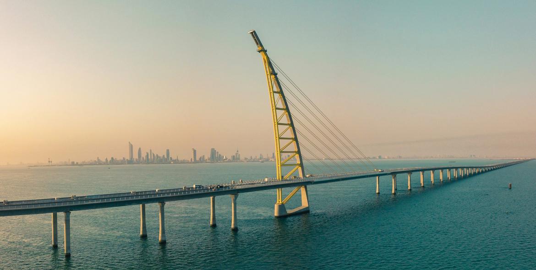 Kuwait, Infrastructure, Sheikh Jaber Causeway, Ssh, Dar Al Handasah, GCC projects, Kuwait projects, Bridges