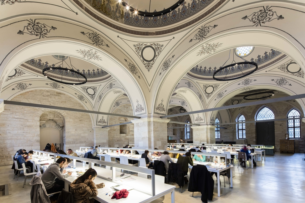 Aga Khan Award for Architecture, Beyazit State Library, Turkey projects, Istanbul projects, Tabanlioglu Architects, Renovation projects