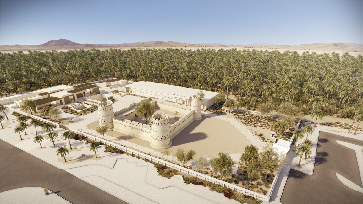 Al Ain Museum of Archaeology, Al Ain projects, UAE projects, Dabbagh Architects, Sumaya Dabbagh, UAE, Al Ain