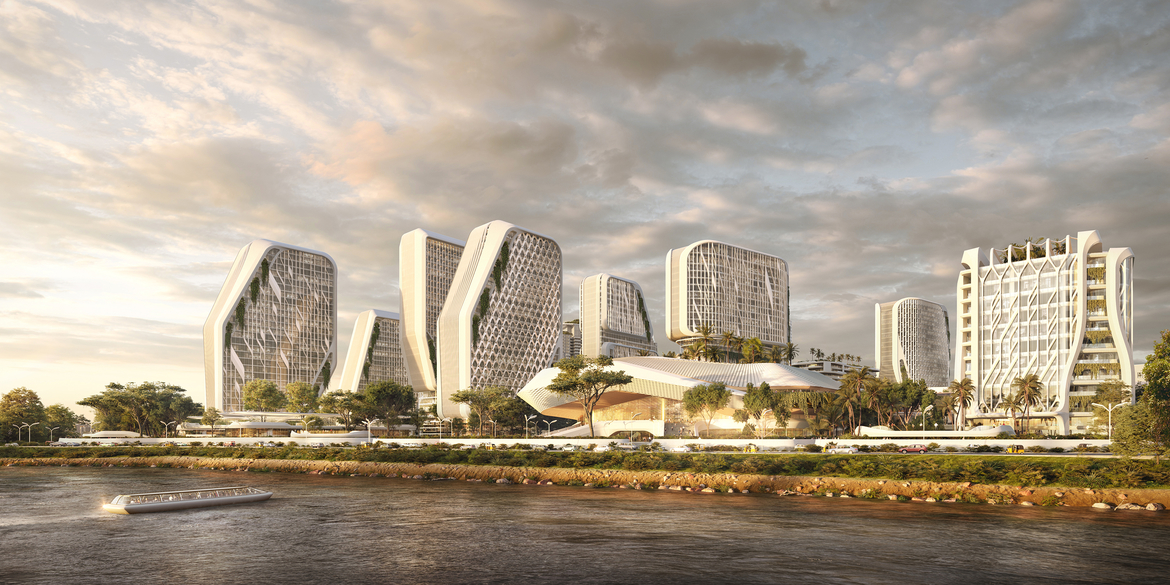 UNStudio, Masterplan, Bangalore, India, Tech hub, Sustainability