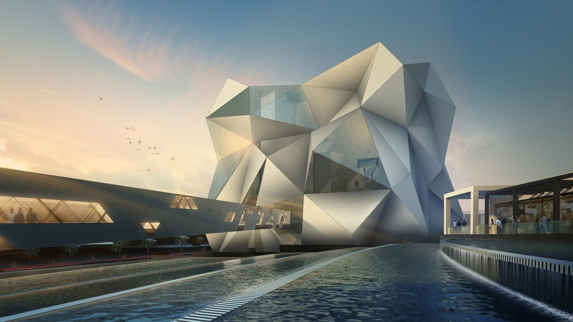 Sports buildings, Abu Dhabi, UAE, AECOM, Cansult Maunsell, Clymb