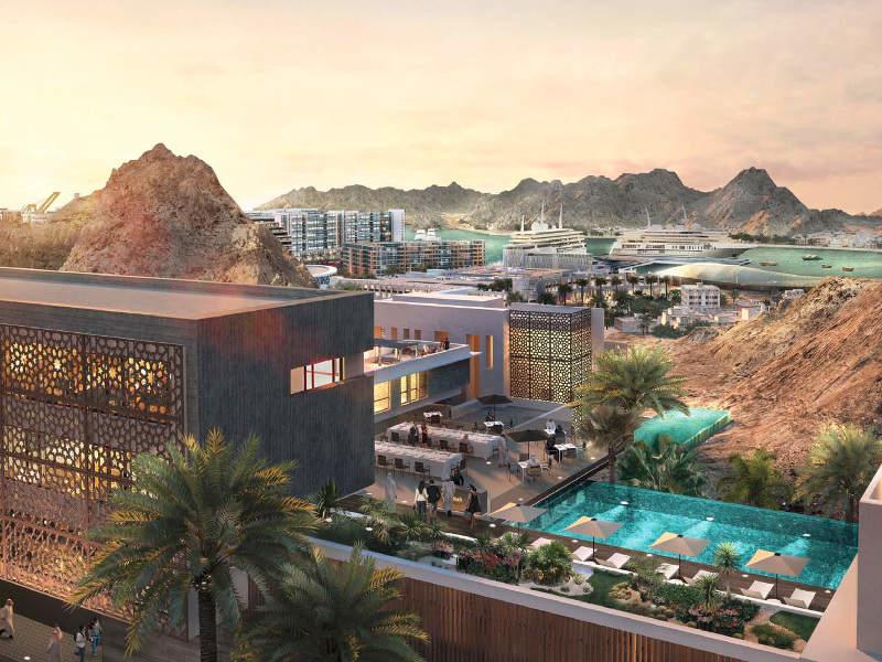 Mina Al Sultan Qaboos, Oman, Muscat, Muttrah district, Foster + Partners, Oman projects, Oman development