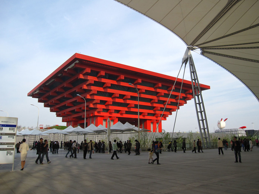 China's pavilion for Expo 2010 Shanghai