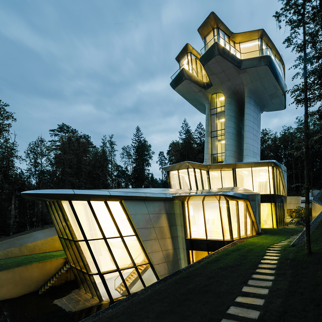 Zaha Hadid, Private residence, Zaha Hadid Architects, Moscow, Russia