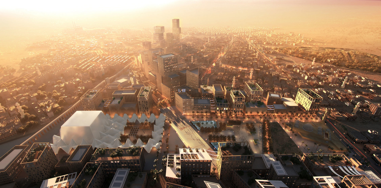 Concept design, Cairo, Egypt, Regeneration projects, Urban projects, Urban regeneration