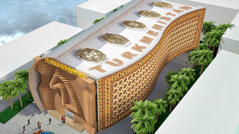 Expo 2020 Dubai, Dubai Expo, Country pavilions, Turkmenistan pavilion, World Expo, Expo 2020