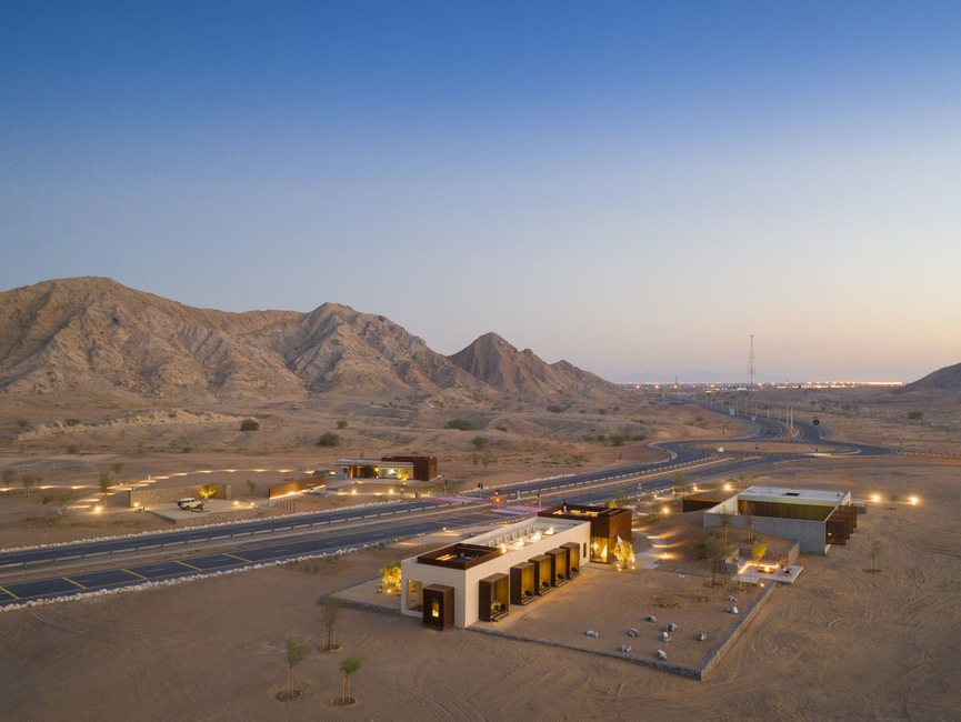 Sharjah, Sharjah architecture, Desert architecture, Anarchitect, UAE, Sharjah development, Hospitality projects, Hotel design