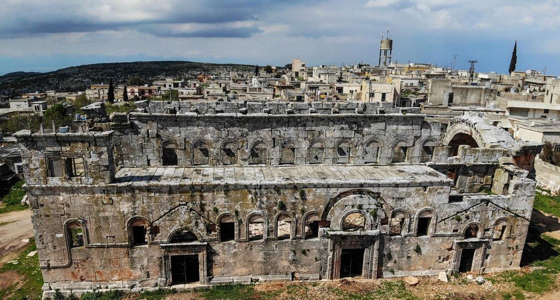 Syria, Notre-Dame Cathedral, Notre Dame, Syria Church, Qalb Loze Church