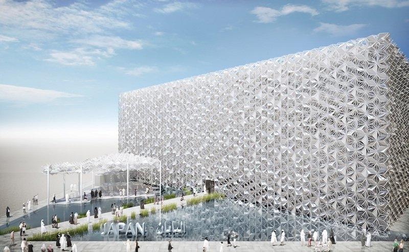 The Japan pavilion for Expo 2020 Dubai