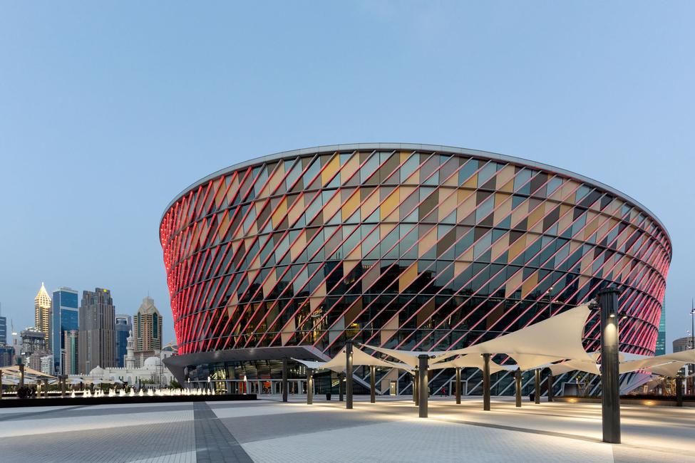 Populous, Coca Cola Arena, Arena