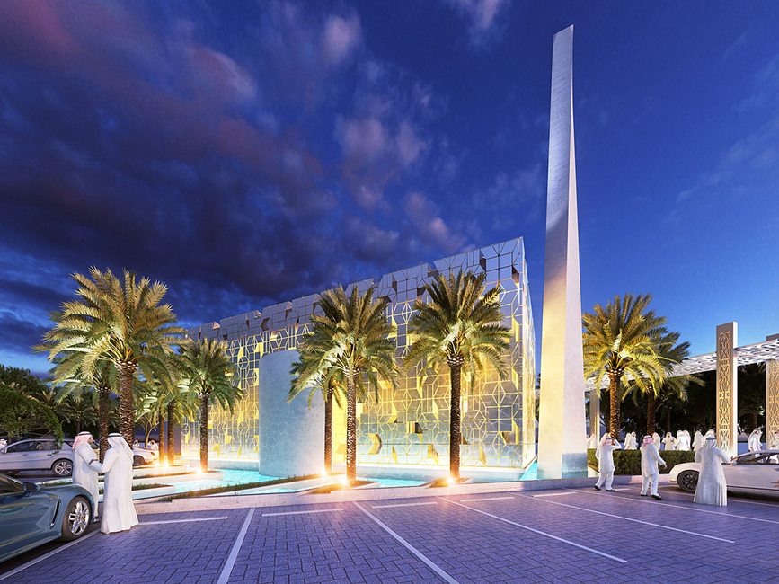 Concept design, Mosque design, Dubai mosque, Archidentity, Ahmed Bukhash, Mosque, Mosque project, UAE, Emirati architects