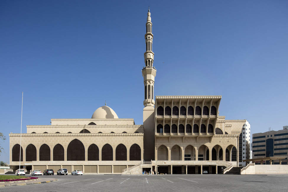 King Faisal Mosque in Sharjah