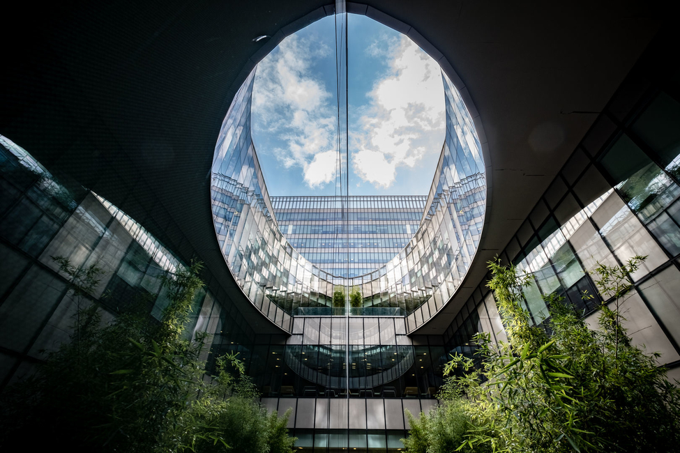 Education design, Medical campus, Kreatif Architects, Atrium, Istanbul, Healthcare design