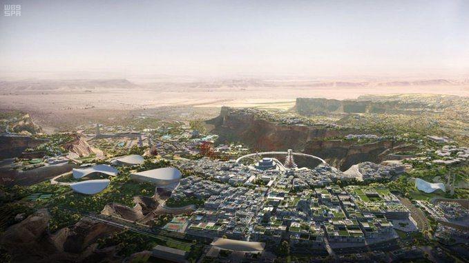 Saudi Arabia, KSA, Megaprojects, Saudi development, GCC development, Capital of Entertainment, Bjarke Ingels Group, BIG