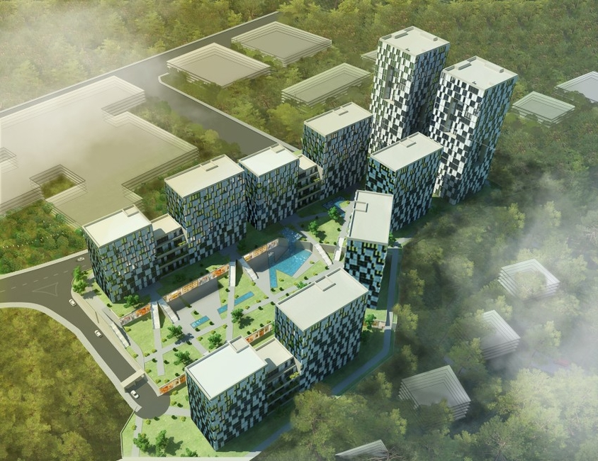 Turkey, Turkish projects, Concept designs, Residential projects, S+ Architecture