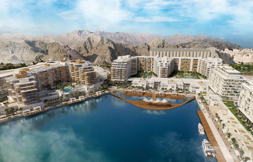 Oman, Mina Sultan Qaboos Waterfront, Ssh, DAMAC, Oman development, GCC development