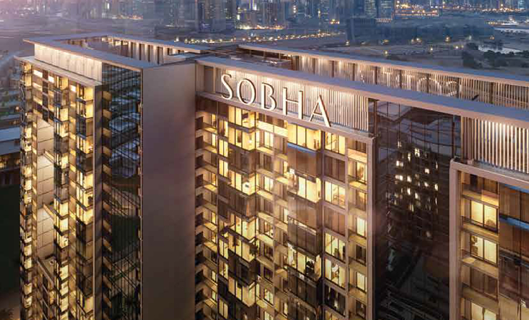 Dubai projects, Dubai buildings, Sobha, UAE development, Sky gardens