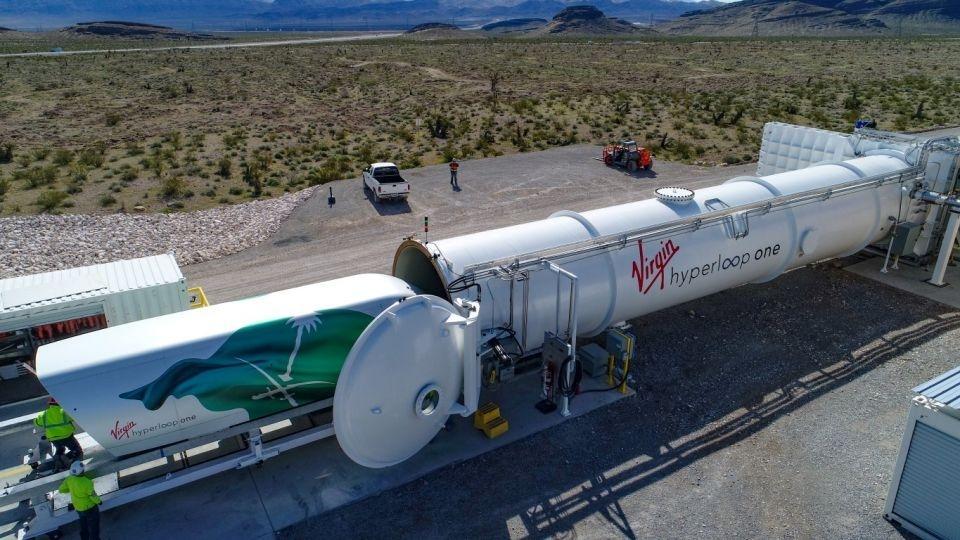 Virgin Hyperloop, Hyperloop, Saudi Arabia