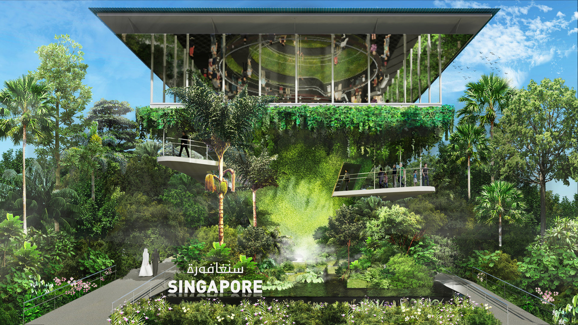 Expo 2020 Dubai, Expo 2020 pavilions, Singapore pavilion