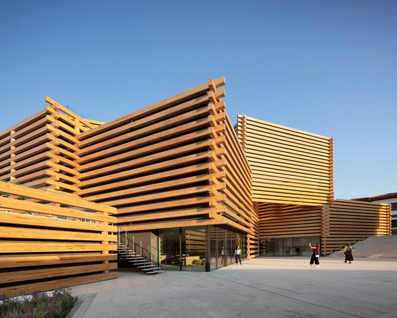 Kengo Kuma & Associates, Odunpazari Modern Museum, Musuems, Cultural buildings, Timber, Stacked architecture, Art museum