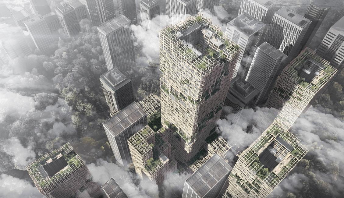 Wooden skyscrapers, Nikken Sekkei, Cityscape Global, Cityscape Global 2019