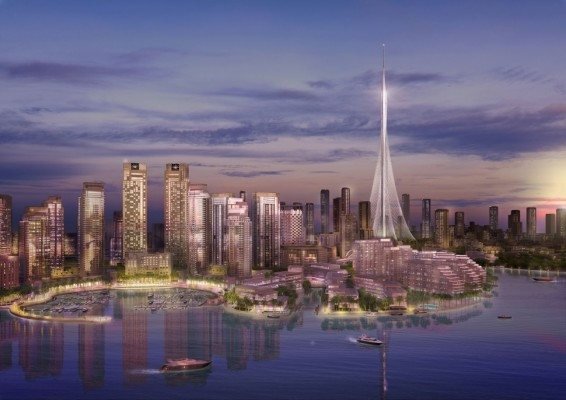 Architecture, Calatrava International, Construction, Design, Dubai Creek, Santiago Calatrava, Sheikh Mohammed The Tower tour, Skyscraper, The Tower, Worlds tallest building