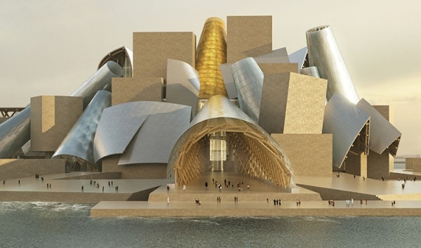 Abu Dhabi, Abu Dhabi museums, Abu Dhabi Tourism and Culture Authority, Architect, Architecture, Art Abu Dhabi, Construction, Contracts, Frank Gehry, Guggenheim Abu Dhabi, Handover, Saadiyat Island, TCA, TDIC, Tender, Tender bids, Tourism Development and Investment Company